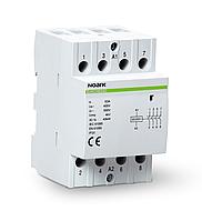 Модульный контактор Ex9CH63 40 63А 220/230В 4НО Noark