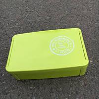 Ланч бокс TODAY'S MENU двухьярусный салатовый 960 мл