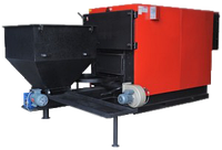 Стальной твердотопливный котел с автоподачей топлива Roda RK3G/S-160 Prom 186 кВт