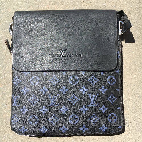 Мужская сумка Луи Виттон, черная Louis Vuitton