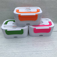 Автомобільний ланч бокс з підігрівом, термоконтейнер для їжі, харчової контейнер, ланчбокс, фото 1