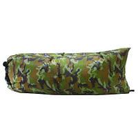 Ламзак надувной диван Lamzac (надувной гамак, шезлонг, мешок) камуфляж, фото 1