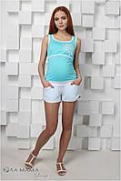 """Летние трикотажные шорты для беременных """"Mandy"""", фото 1"""