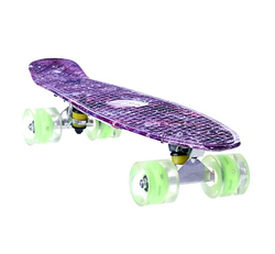 Скейты.Детский скейтборд.Детский скейтборд со светящимися колесами.