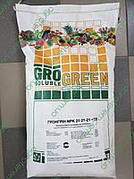 ГроГрин NPK 21-21-21+TE 25 кг.