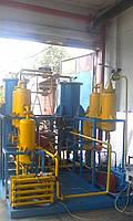 Осушка газа низкого давления