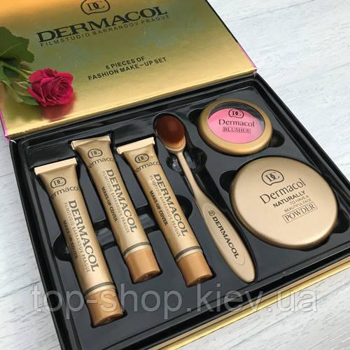 Косметический набор Дермакол Dermacol Make-up Cover (6 в 1)