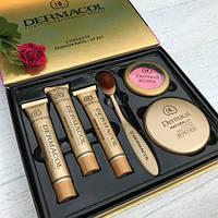 Косметический набор Дермакол Dermacol Make-up Cover (6 в 1), фото 1
