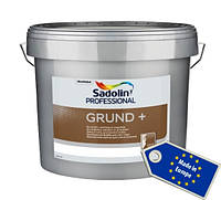 Sadolin GRUND+ 10л грунтовочная краска, Белая