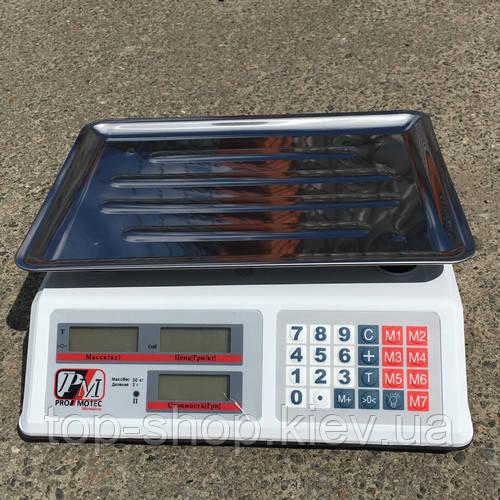 Весы торговые Promotec PM 5051 50 кг