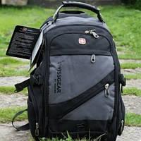 Городской рюкзак Swissgear Men Bag 8810 Свисгир серый, фото 1