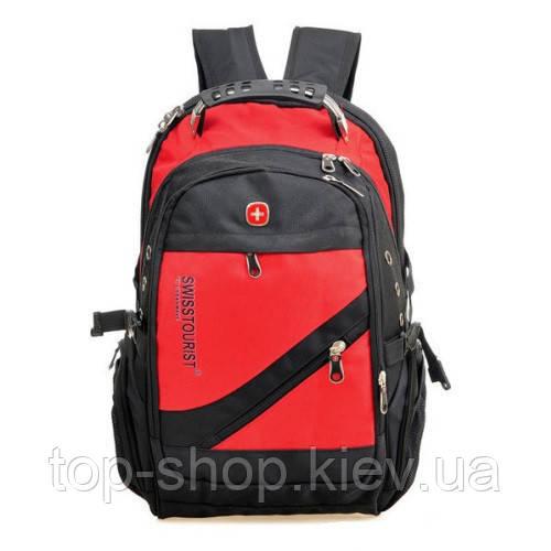 Городской рюкзак Swissgear Men Bag 8810 Свисгир красный
