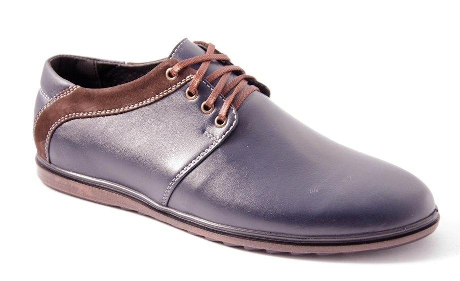 Туфли мужские синие Romani 5680221 р.40-45