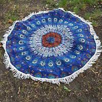 """Пляжный коврик """" Мандала """" 150 см, фото 1"""
