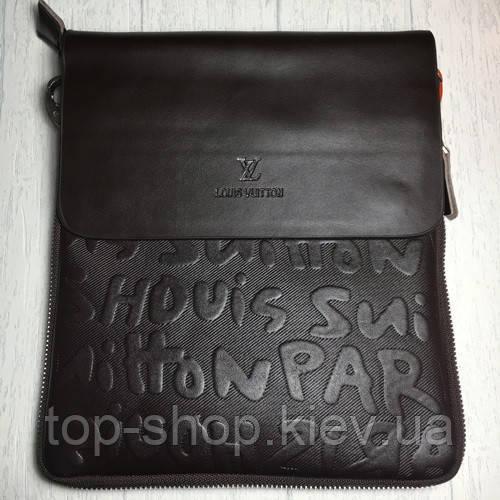 Мужская сумка Луи Виттон, коричневая Louis Vuitton