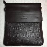 Мужская сумка Луи Виттон, коричневая Louis Vuitton, фото 1