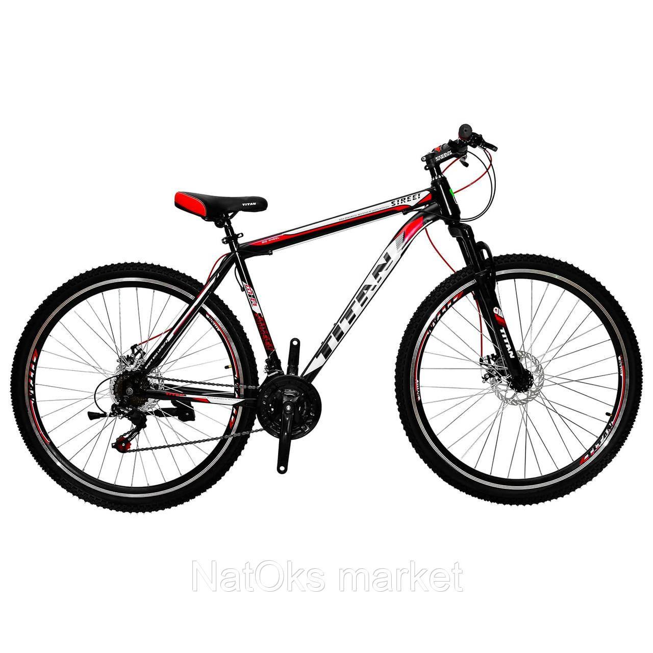 "Велосипед Titan Street 29"" Red-Black-White"