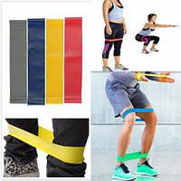 Резинка для фитнеса эспандер Fit Simplify набор 5 штук
