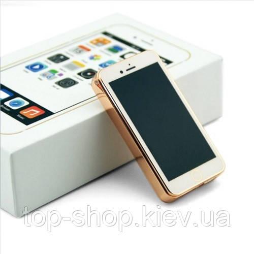 """USB зажигалка Айфон в подарочной упаковке """"IPhone"""" (спираль накаливания)"""