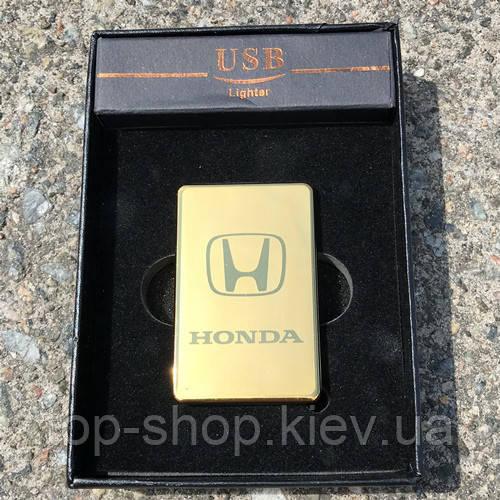 Электроимпульсная зажигалка usb Honda