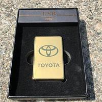 Электроимпульсная зажигалка usb Toyota, фото 1