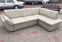 """Угловой кожаный диван """"Маслоу»"""