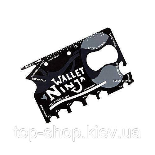 Мульти-кредитка Ninja Wallet 18 в 1