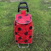 Тачка сумка с колесиками кравчучка Роза, фото 1