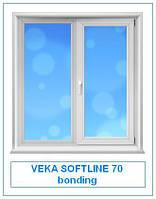 Veka Softline 70 bonding  окна и двери металлопластиковые