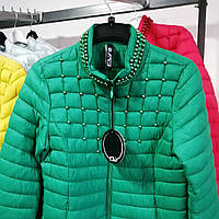 Куртка зеленая, фото 1