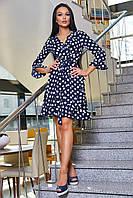 Красивое платье женское в горох SV 3356, фото 1