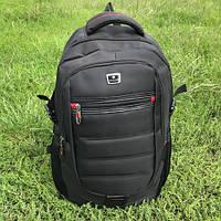 Стильный городской рюкзак Naxilong черный, фото 1