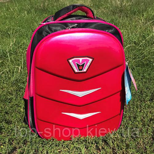 Рюкзак школьный для девочки с ортопедической спинкой розовый