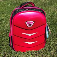 Рюкзак школьный для девочки с ортопедической спинкой розовый, фото 1