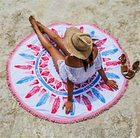 Пляжный Коврик Яркие Перья, фото 1