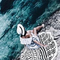 Пляжный Коврик Black Style, фото 1
