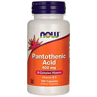 Пантотеновая кислота ( витамин b5 ) 500 мг 100 капс США