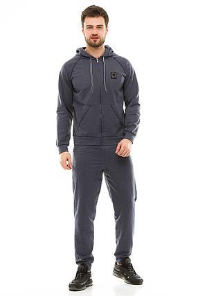 Мужской спортивный костюм 703 джинс, фото 2