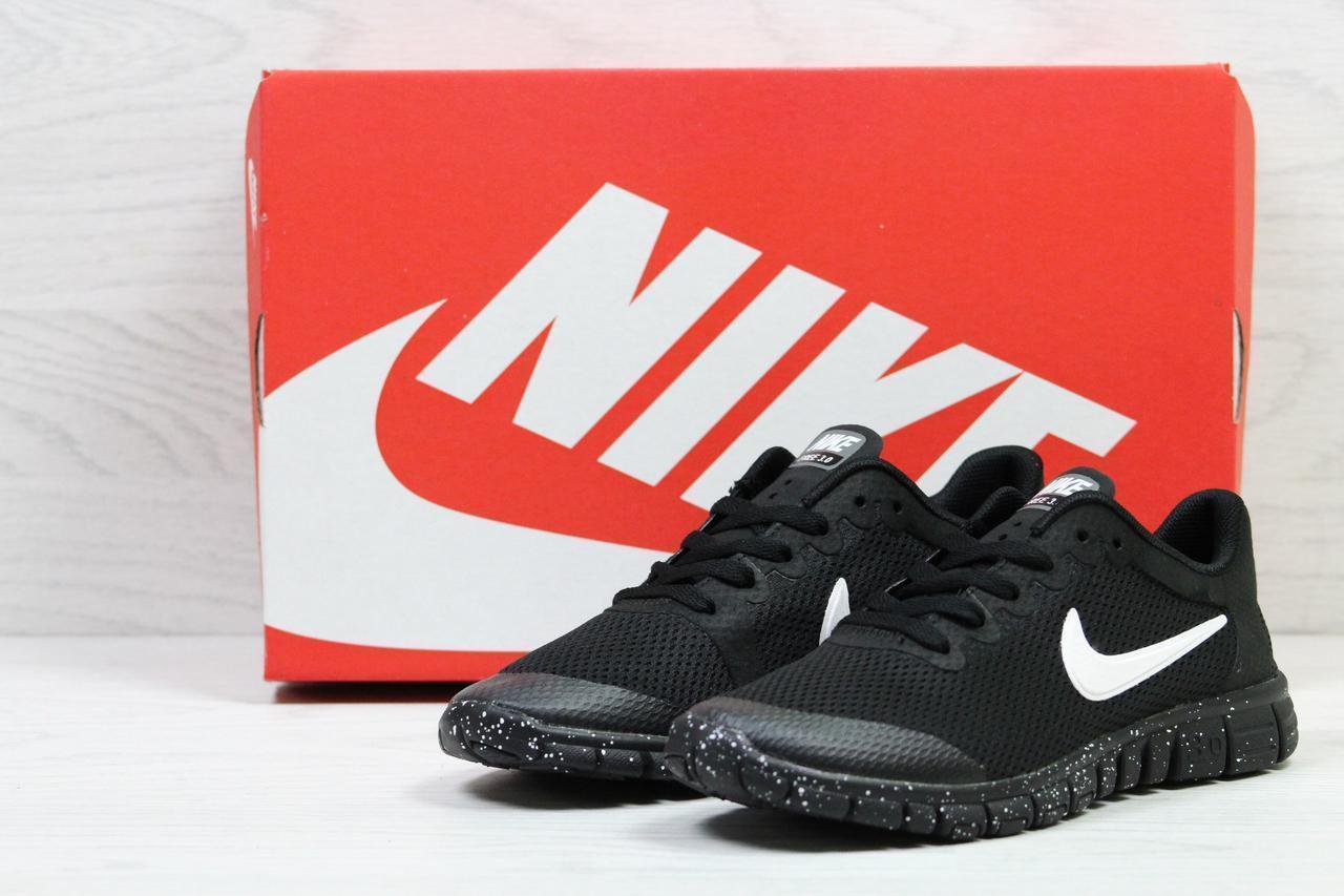 1557991f Женские кроссовки в стиле Nike Free Run 30, черные - MagicShoesStyle в Киеве