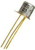 2Т208К транзистор PNP (0,3А. 45В) (h21э: 70-240) Au (ТО18)