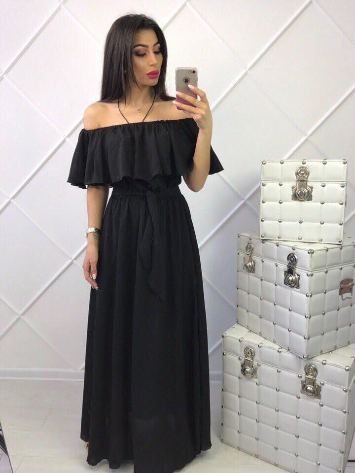 246a6e91cbb11b9 Платье в пол шифон - Интернет-магазин