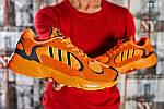 Мужские кроссовки Adidas Yung 1 (оранжевые), фото 3