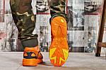 Мужские кроссовки Adidas Yung 1 (оранжевые), фото 6