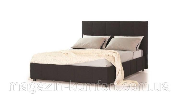 Кровать двуспальная Romeo черная