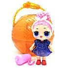Кукла Лол капсула L.O.L. Surprise Under Wraps Eye Spy + LOL Black 7 Series чёрныйшар TOY021, фото 4