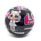Кукла Лол капсула L.O.L. Surprise Under Wraps Eye Spy + LOL Black 7 Series чёрныйшар TOY021, фото 5