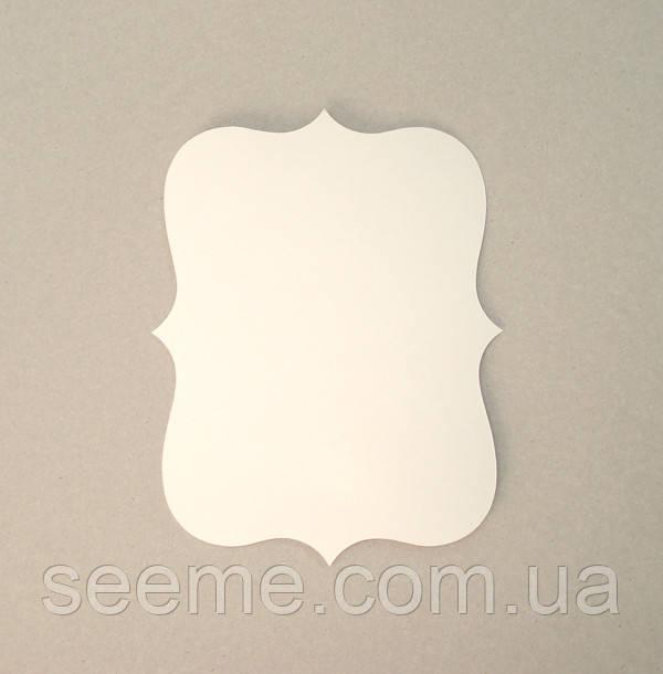 Комплект заготовок 190×140 мм, 10 шт, цвет белый