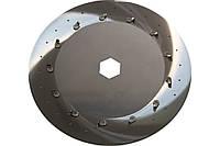 Диск высевающий 75х2 (2-х строчный) х1,0 GASPARDO Olimpia Гаспардо Оптима SP 8 и MTR , авиационная сталь!