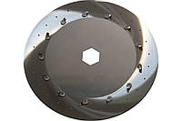 Диск высевающий 90х2 (2-х строчный) х1,0 GASPARDO Olimpia Гаспардо Оптима SP 8 и MTR , авиационная сталь!