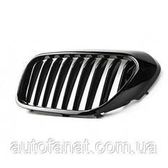 Оригинальная решетка радиатора черная правая M Performance BMW 5 (G30) (51712430994)